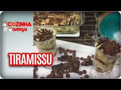 Tiramissú E Biscoito Champagne  - Raquel Novais | Cozinha Amiga (20/11/17)