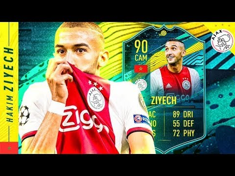WHAT A CARD!! 90 MOMENTS ZIYECH REVIEW!! FIFA 20 Ultimate Team