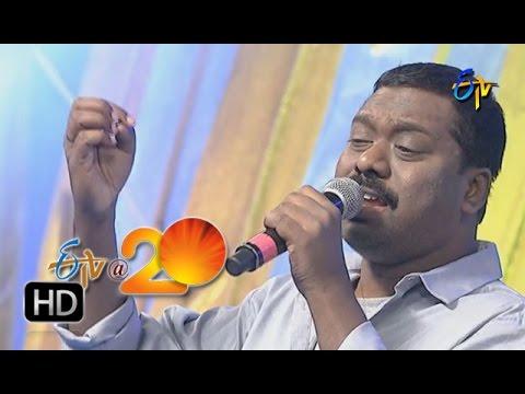 Jassie Gift ,Performance Malleswarive Madhursala Manjarive Song in Tirupathi ETV @ 20 Celebrations