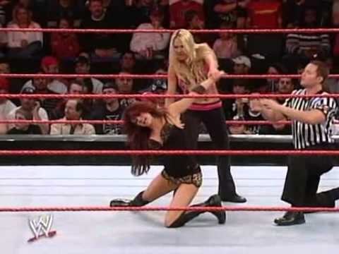 Torrie wilson vs candice michelle paddle on a pole match - 4 7