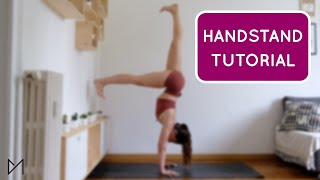 HANDSTAND TUTORIAL | #yogawithmarti