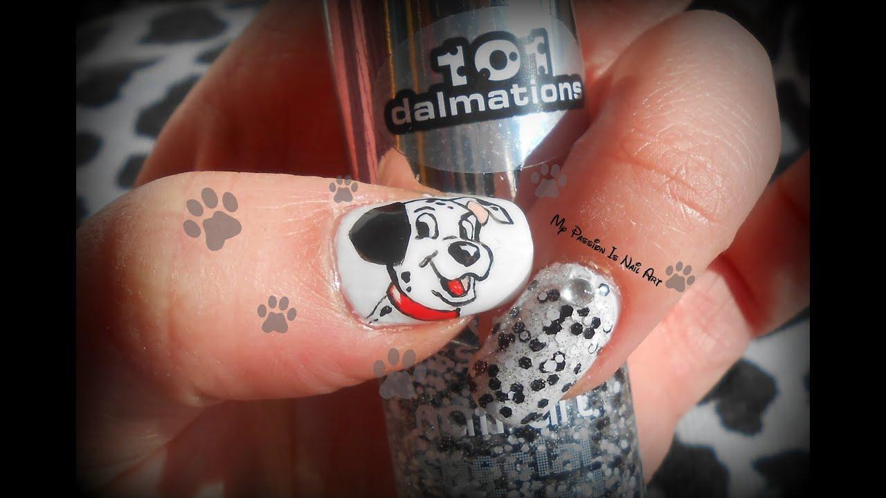 101 Dalmatations Essence Nail Art Tutorial Tutorial Nail Art Carica