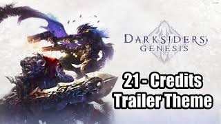 DARKSIDERS GENESIS Soundtrack OST - 21 - Credits (Trailer Theme)