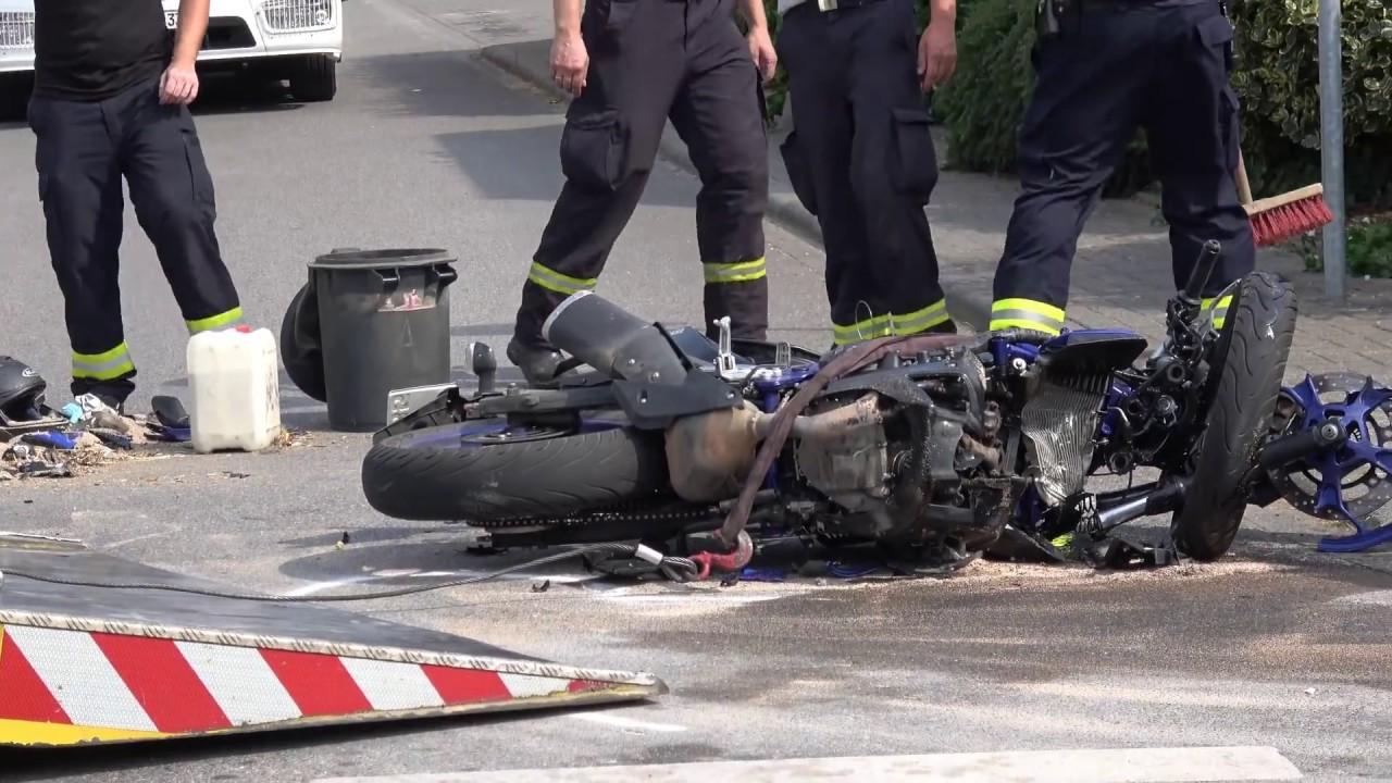 Tödlicher Unfall Motorrad