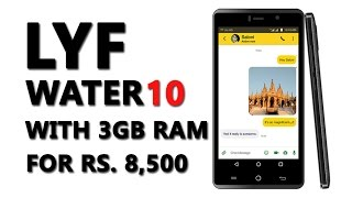 LYF WATER10 unboxing and quick review in hindi