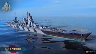 обзор на Yoshino - World of Warships