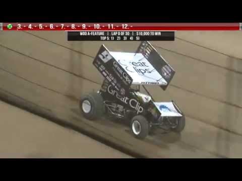 9.24.16 World of Outlaws Highlights  |  #B4TheCrowns
