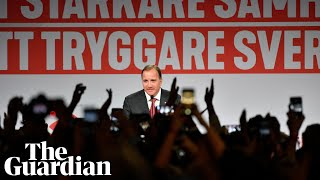 Swedish general election results leave main parties in deadlock