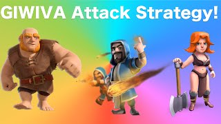 Clash of Clans - NEW TH8-11 GiWiVa Trophy/Farming Attack Strategy Guide