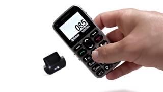 Produktvideo zu Großtasten-Handy Doro Primo 215