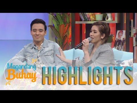 Magandang Buhay: Angeline admits that she loves Erik