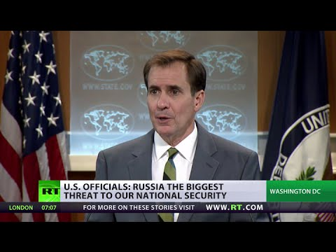 State Dept grilled on Air Force chief claim that Russia 'biggest threat' to US security