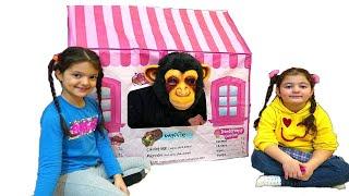 Masal Öykü and Funny Monkey