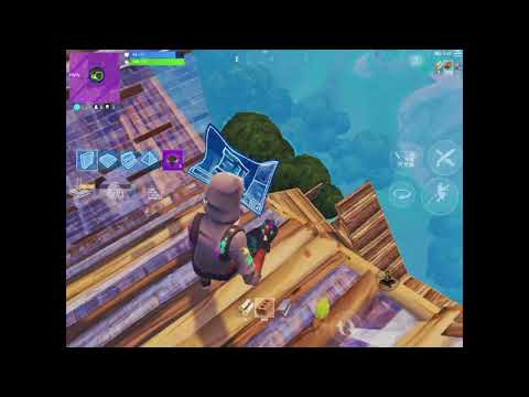 Fortnite Mobile Build Battles to Max Height