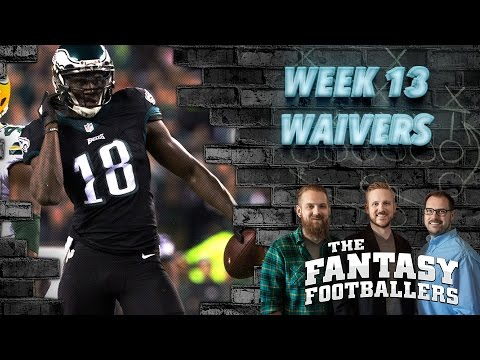 Fantasy Football 2016 - Week 13 Waivers, Streams of the Week - Ep. #316