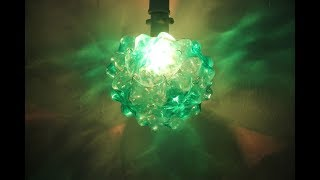 Cara Membuat Lampu Hias Botol Bekas Cantik