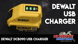 DeWalt DCB090 USB Charger
