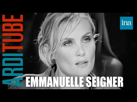 complexe d'actrice d'Emmanuelle Seigner  Archive INA