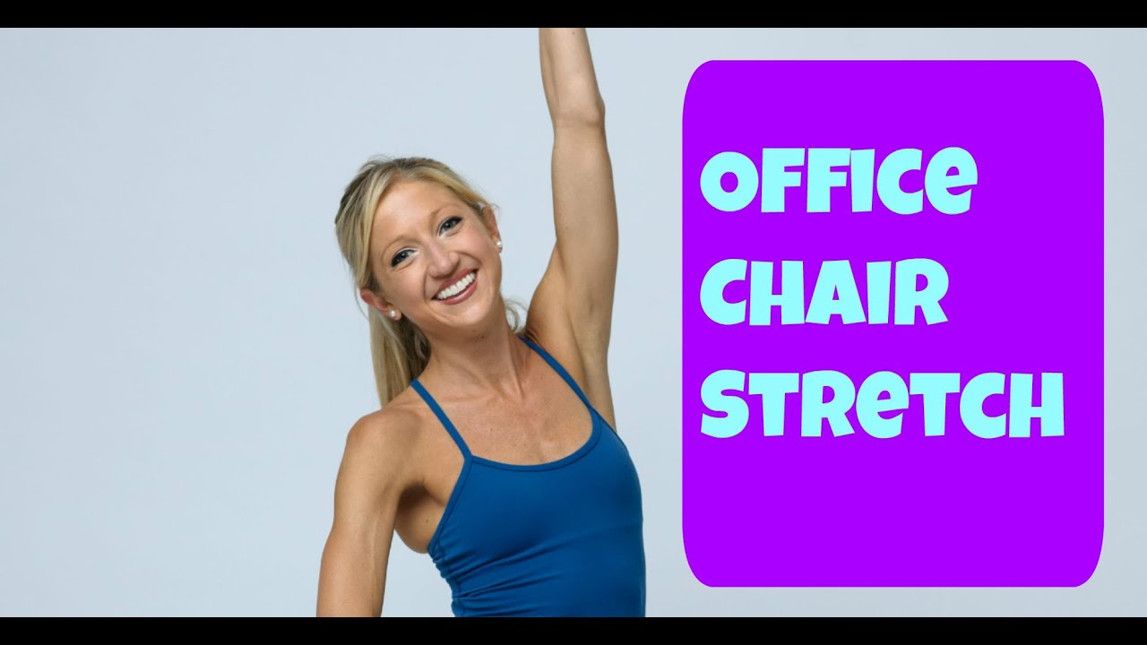 Office Chair Exercises Get Up And Stretch Free Office Chair Stretching Video