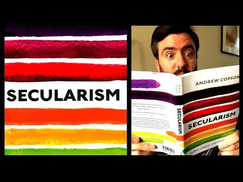 'Secularism' & Why It's Needed - Andrew Copson, Chief Executive of Humanists UK