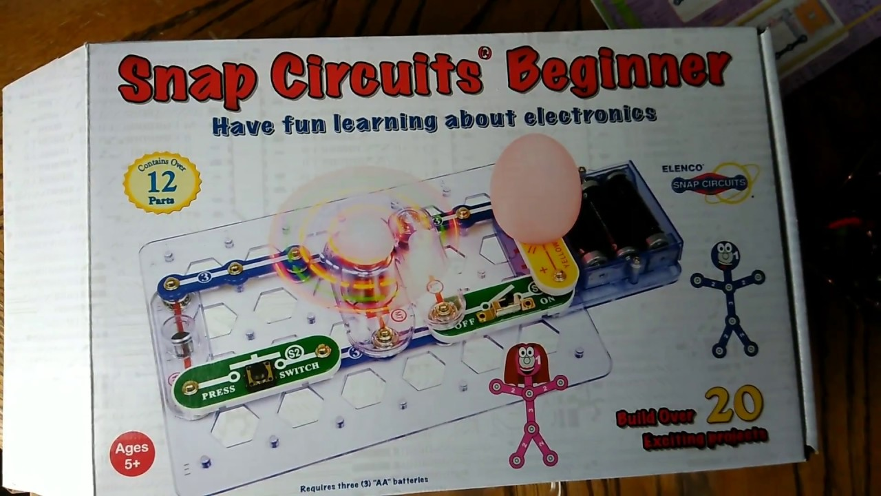 Toy Review Snap Circuits Beginner Youtube Circuit For Kids