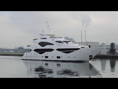 Sunseeker's Super-Yachts Take Luxury to Another Level