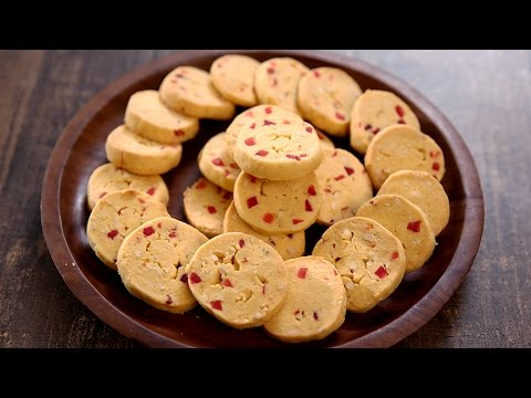 Tutti Frutti Biscuits Recipe | Easy Tea Time Snack Recipe | Beat Batter Bake With Upasana