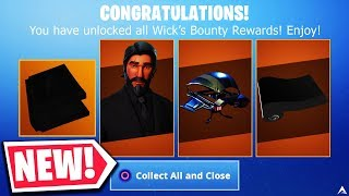 New WICKS BOUNTY CHALLENGES & REWARDS in Fortnite...