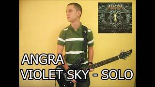Angra - Violet Sky Solo Cover (Caio Matthaus)