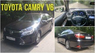 Toyota Camry V6 имитируем трассу - движение с комментариями
