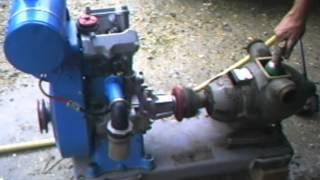Motopompe Rotobloc avec moteur Bernard W110 bis.
