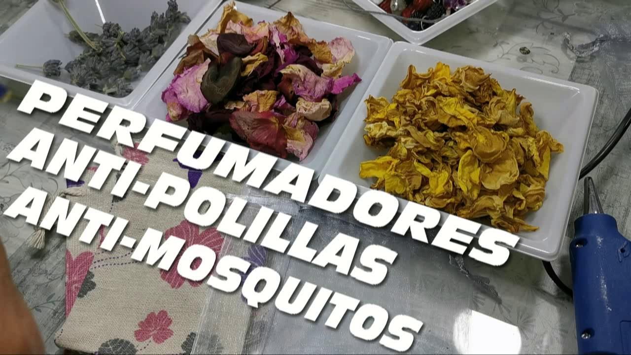 USA ESTO Y AHUYENTA POLILLAS MIENTRAS PERFUMAS Y DECORAS TU AMBIENTE