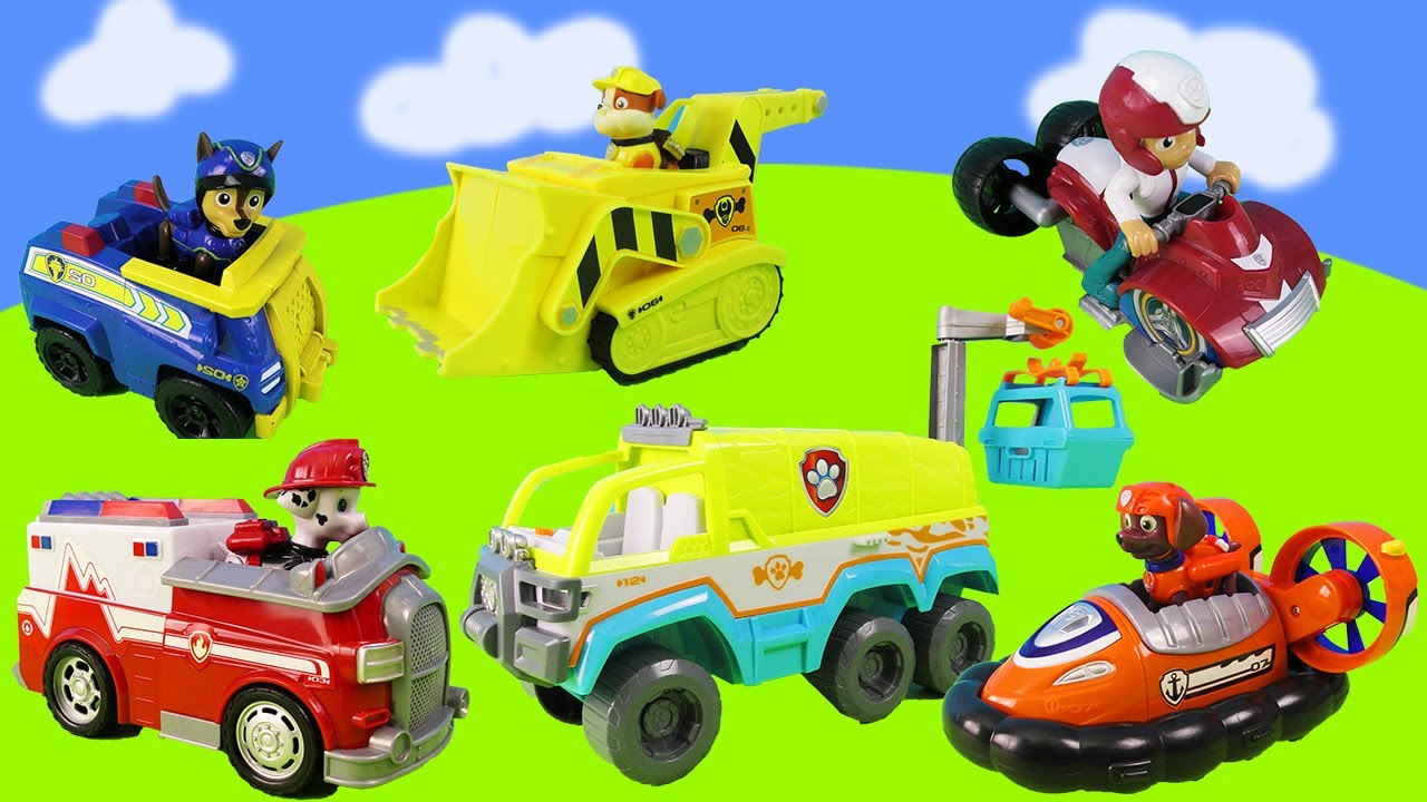 Paw Patrol: Rescue operations with the jet | Free the puma from rubble | Ranger Tracker and friends