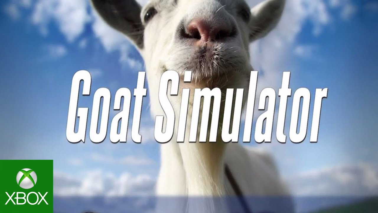 Goat Simulator will be chewing on your Xbox One and Xbox 360 from