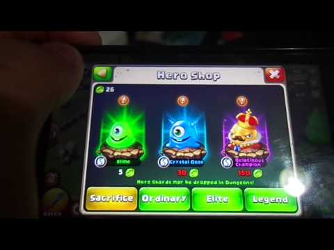 How To Sacrifice Your Slime In Castle Clash