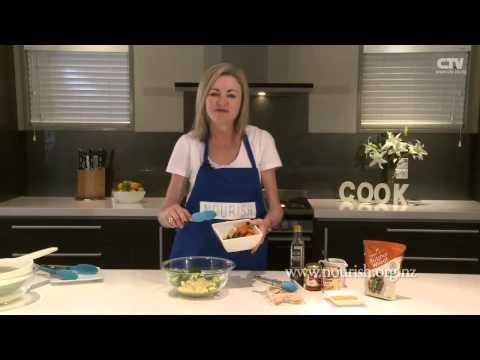 Nourish Yourself - Hot Bulgar Wheat & Chicken Salad