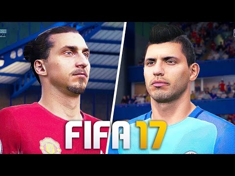 FIFA 17 GAMEPLAY Manchester United vs Manchester City [1080p HD 60FPS] MANCHESTER DERBY