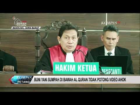 download Buni Yani Sumpah di Bawah Al Quran Tidak Potong Video Ahok