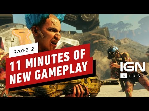 Rage 2: The BFG 9000 and 11 Minutes of Awesome New Gameplay - IGN First thumbnail