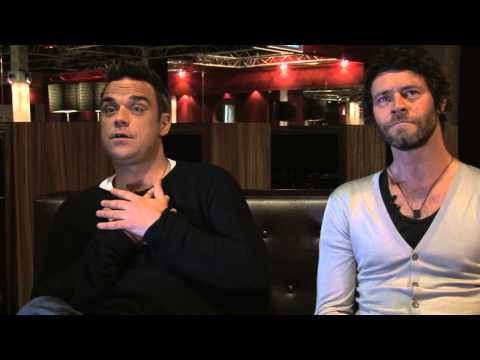 Take That 2011 interview - Robbie Williams and Howard Donald (part 1)