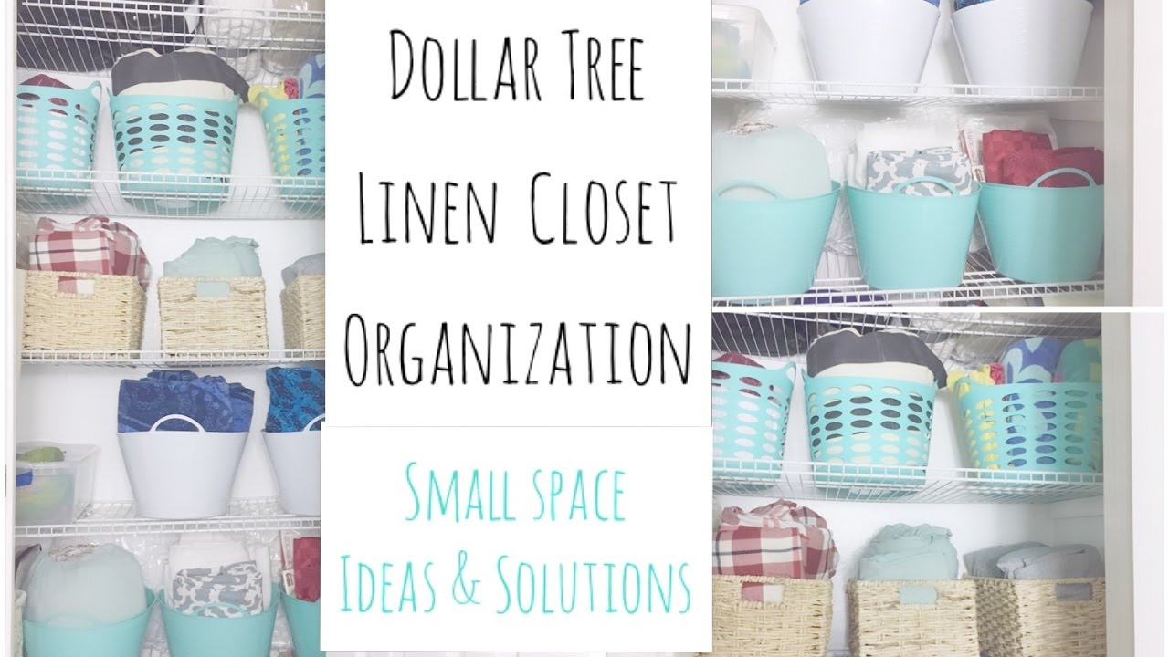 How To Organize A Small Linen Closet | Organization Tips U0026 Makeover Tour