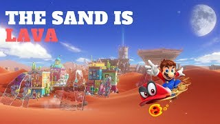 Video The Sand is Lava Challenge: Sand Kingdom ( Super Mario Odyssey ) download MP3, 3GP, MP4, WEBM, AVI, FLV Oktober 2018