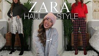 ZARA HAUL | TRY ON & STYLE