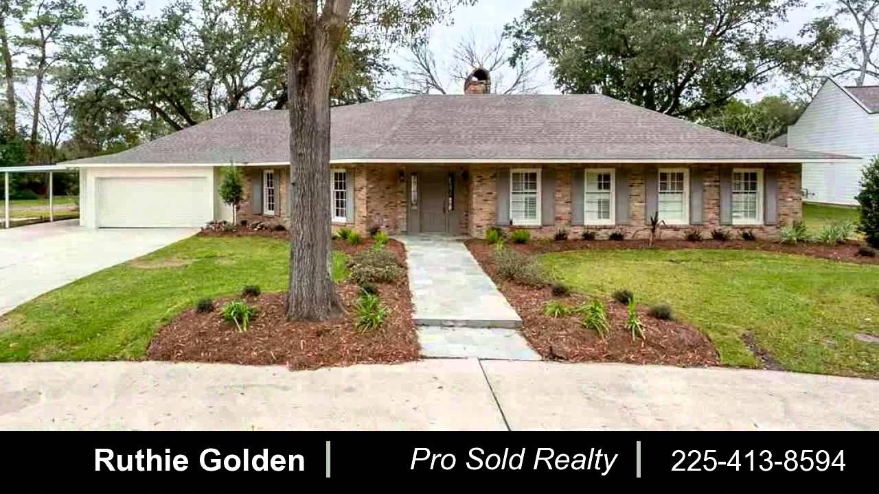 Property For 5353 Moss Side Ln Baton Rouge La 70808
