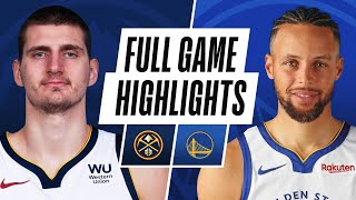 NUGGETS at WARRIORS | FULL GAME HIGHLIGHTS | April 23, 2021