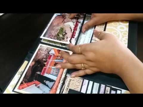 Mini Album/ Travel Journal- Flip through....