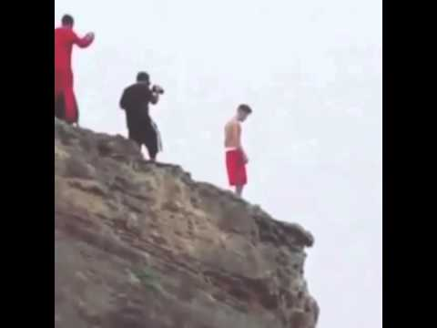 58bcb5c42f Justin Bieber Jumping off a cliff in Hawaii - YouTube