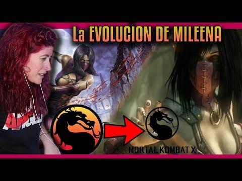 Reacción a la EVOLUCION DE MILEENA desde MORTAL KOMBAT a MORTAL KOMBAT X | Por Helanyah