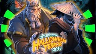 Overwatch - HALLOWEEN TERROR SKINS 2018 & NEW GAME MODE PREDICTIONS!