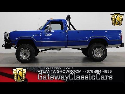 1973 Dodge Power Wagon - Gateway Classic Cars Of Atlanta #261